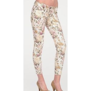 Dollhouse Floral Print Skinny Jeans